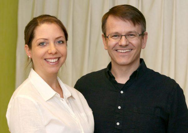 Madara Decker & Volker Schmidt, Teamfoto