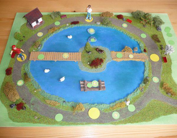 Volkers Spielewelt Brettspiel Teichspiel