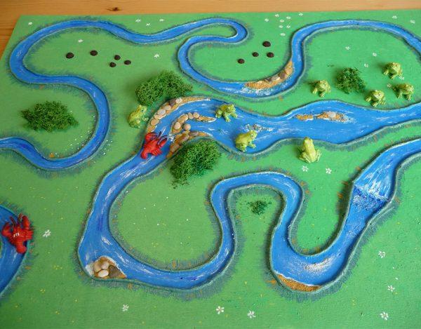 Volkers Spielewelt Brettspiel Froschbach
