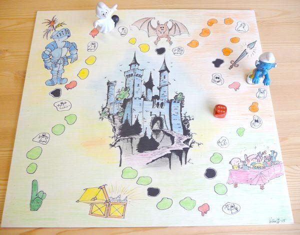 Volkers Spielewelt Brettspiel Gespensterburg