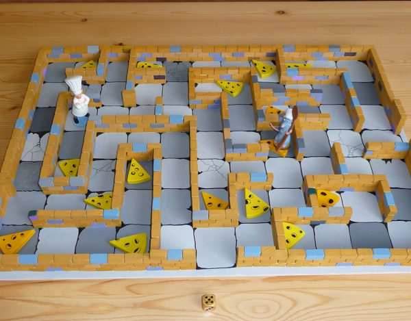 Volkers Spielewelt Brettspiel Käselabyrinth